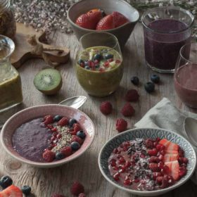 Smoothies kryddade med lakrits